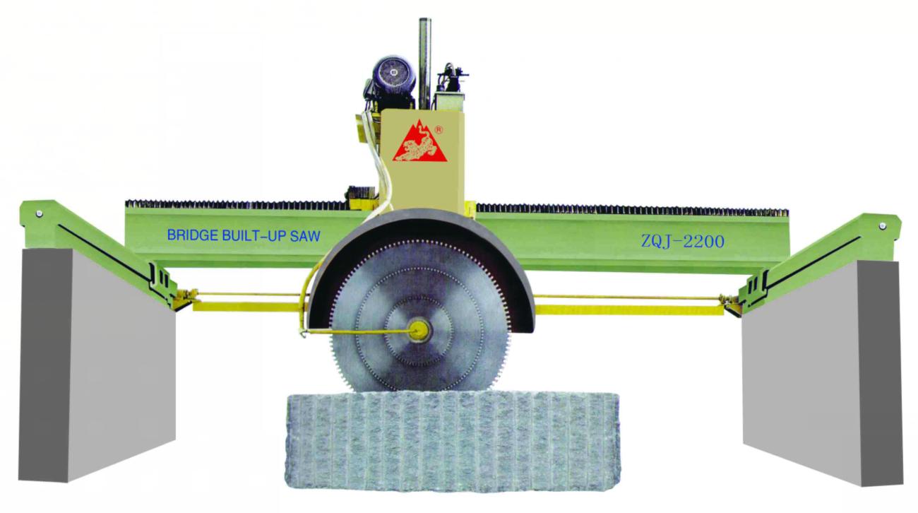 Z1600/ZQJ2200型桥式组合锯石机