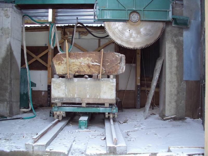 QJ1800型桥式圆盘锯在保加利亚