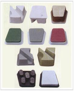 单头磨机及多头磨机用马蹄型磨料