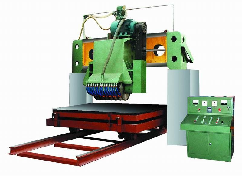石材荒料切割机辅助装置的制作方法