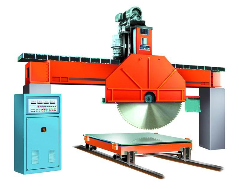 厂家阐述石材荒料切割机生产中应注意的安全问题